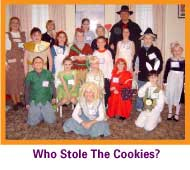 Cookies mystery party game