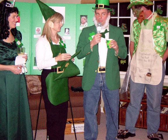 saint patricks day party photos