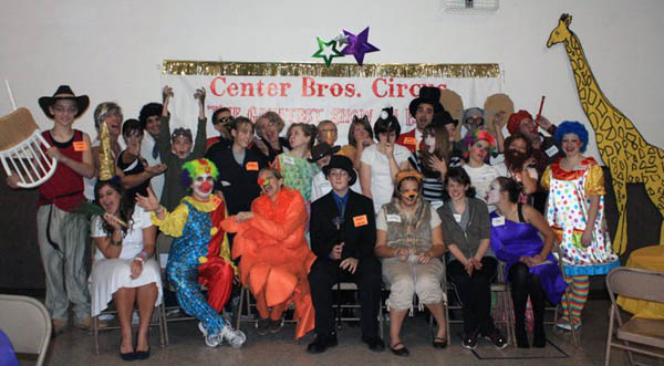 Clown themed party
