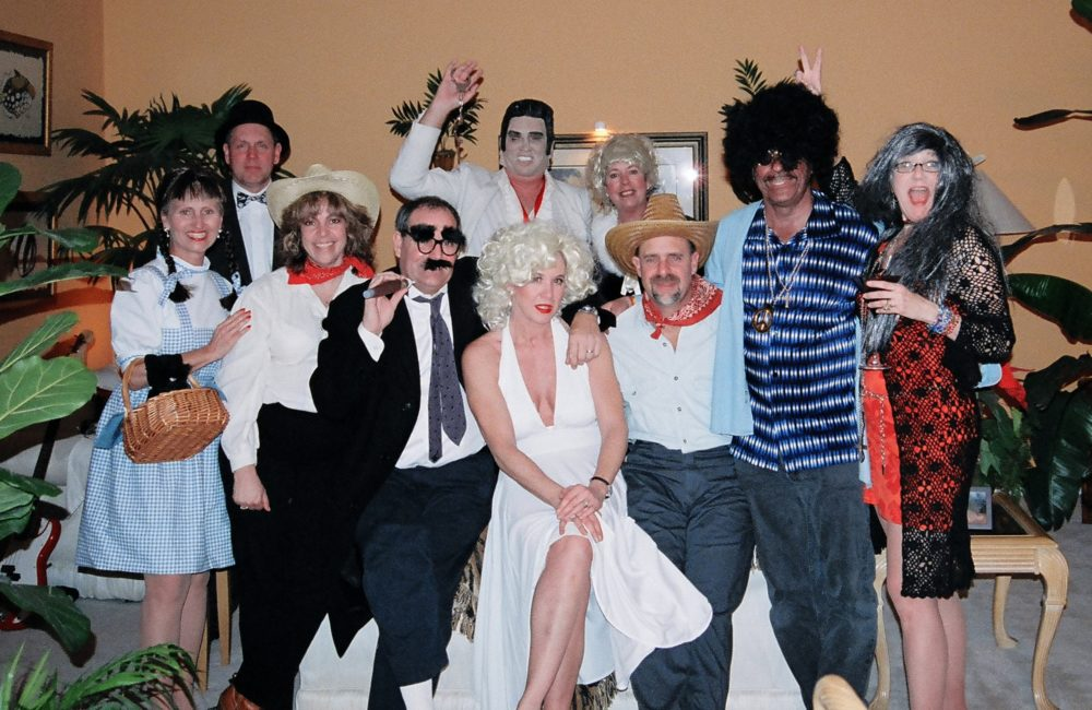 A great murder party photo from Feb 2005