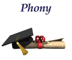 Phony graduation kit image