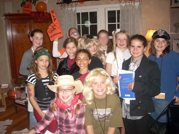 Teen girls party
