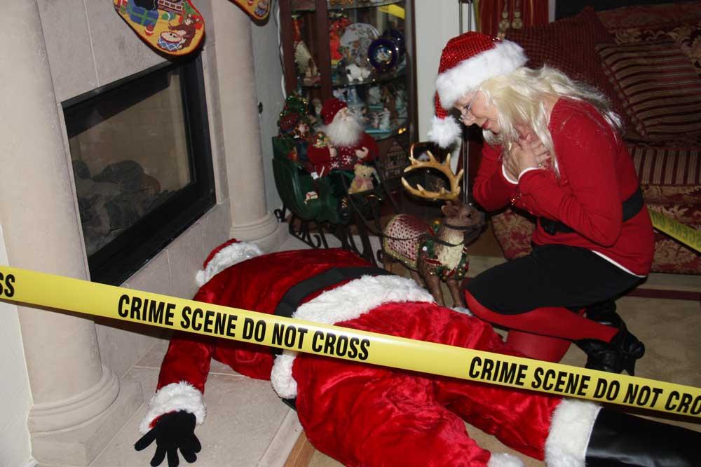 Santa as victim
