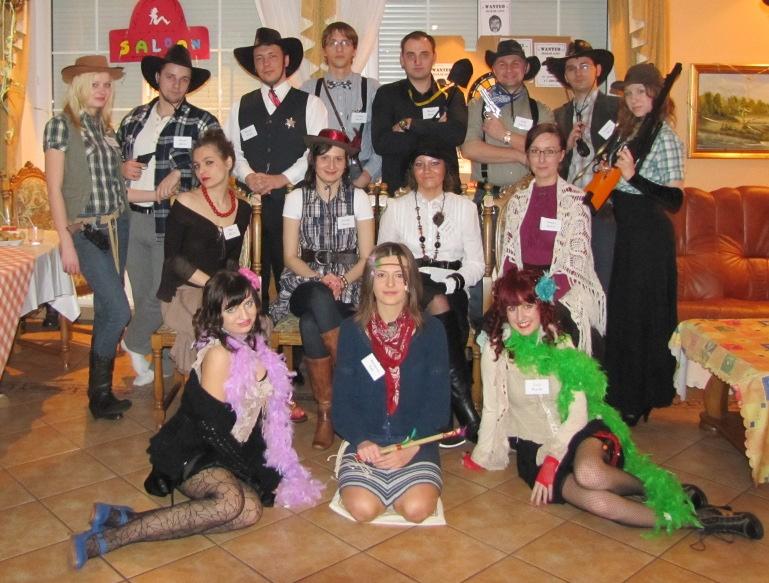 Prairie themed party fun
