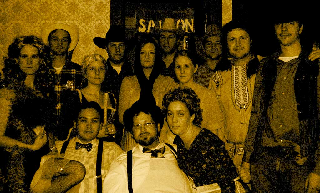 Western themed party